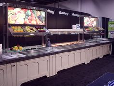 Signs and Umbrellas for Cafeteria Food Serving Lines for Cafeteria & Buffet Lines | Page 73, 2012 Galley Line Catalog