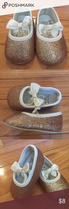 Koala Kids Gold Shoes Koala Kids gold shoes. Size 3-6m. NWT Koala Kids Shoes Baby & Walker