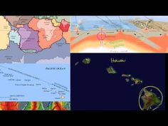 Hawaiian Islands Formation : Hawaiian Islands formed by stationary hot spot under Pacific plate
