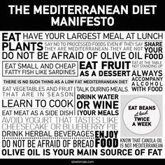 The Mediterranean Diet Manifesto|Elena Paravantes RD