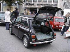 Mini hatchback built from Mk IV or V saloon. Believed to be German