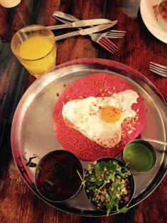 Indian Brunch at Pondicheri Houston Brunch, Food Places, Meatless Monday, Indian Food Recipes, Good Food, Vegetarian, Meals, Dinner, Breakfast