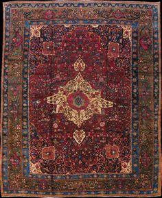Persian Bakhtiari rug, early 20th c