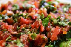http://www.whatscookingwithdoc.com/2011/08/fresh-salsa/  Just in time for the Superbowl!! Fresh and flavorful!!!!