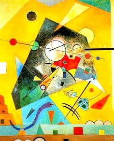 Art Print: Quiet Harmony Art Print by Wassily Kandinsky by Wassily Kandinsky : Kandinsky Prints, Art Kandinsky, Abstract Words, Abstract Art, Abstract Expressionism, Framed Art Prints, Poster Prints, Framed Wall, Canvas Prints