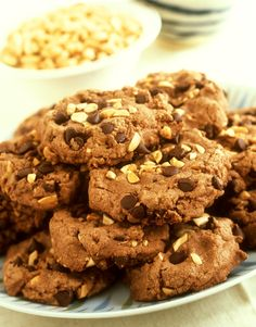 Hafer-Schoko-Cookies | http://eatsmarter.de/rezepte/hafer-schoko-cookies