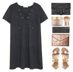 """throw and go"" by amazing-abby ❤ liked on Polyvore featuring MANGO, Rebecca Minkoff, H&M, Aromatherapy Associates and Maison Margiela"