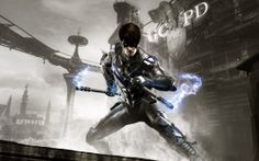 Wallpapers HD: Batman Arkham Knight Nightwing