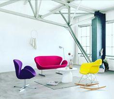 Neue r ume der design hotspot z rich designer stuhl for Schwan sessel replica