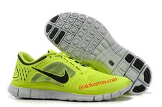 e480f41daf57 Find Nike Free Run 3 Mens Fluorescence Yellow Black Shoes New online or in  Footlocker. Shop Top Brands and the latest styles Nike Free Run 3 Mens ...