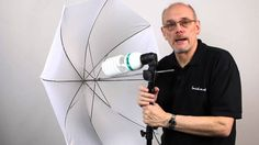 Product photography tutorial using shoot through umbrella's