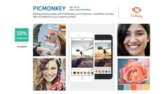 Editing photos is easy with PicMonkey. Add filters, frames, text and effects to your heart's content. #photography #shareasale