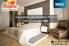 #MGI_Maple located in Govindpuram, Ghaziabad, offers your own preference of 2/3 #BHK luxurious #apartments. The apartments are stunningly #designed to provide its #residents full #comfort. Each apartment is equipped with all the modern #amenities and offers you to start a #premium_life. Allow the flow of ample light and air in every apartment. See more @ http://bit.ly/1soao5u
