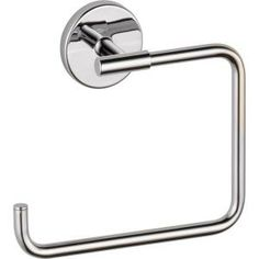 Buy the Delta 759460 Chrome Direct. Shop for the Delta 759460 Chrome Trinsic Wall Mounted Towel Ring and save. Delta Trinsic, Delta Faucets, Bar Faucets, Towel Rings, Bathroom Hardware, Bathroom Plumbing, Bathroom Hooks, Scandinavian Modern, Bathroom Fixtures