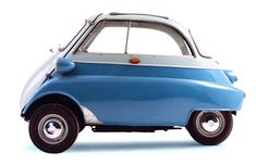 1957 BMW Isetta 300 my friend had one of these in high school..family kids car, hand me down from his older brothers..