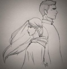 Celaena and Chaol from the book Crown of Midnight by Sarah J. Maas