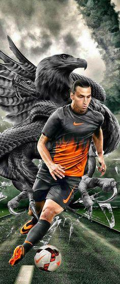 Zlatan #Ibrahimovic #Nike #Futbol