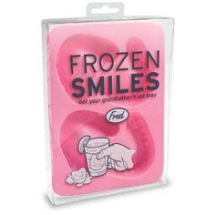 Fred Frozen Smiles Ice Cube Tray-  dental school graduation funny