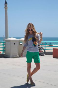 GAP shorts featured in Blues Eyed Finch Blog