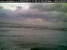 12-15ft crushed waves hit Hilton Beach Tel-Aviv. Waiting for the storm to calm down