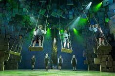 Rob Howell has collected the Olivier Award for Best Set Design for his work on hit show #Matilda The Musical,