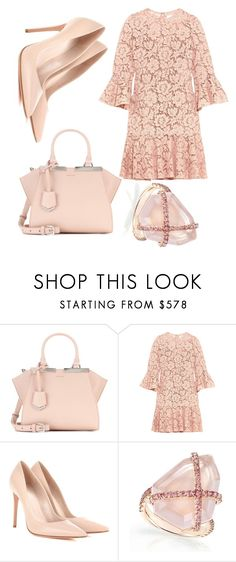 """Untitled #358"" by jaykate on Polyvore featuring Fendi, Valentino and Alexander McQueen"