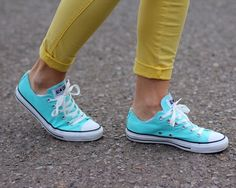 Converse shoes. Seriously I got to get new converse! As much as I love my heels, I need my converse:D