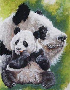 Panda DIY Full Drill Diamond Painting Embroidery Cross Stitch Kit Rhinestone Mosaic Home Decor Craft Cross Paintings, Animal Paintings, Panda Art, Panda Love, Bear Art, Cross Stitch Animals, Thing 1, Canvas Art Prints, Framed Canvas