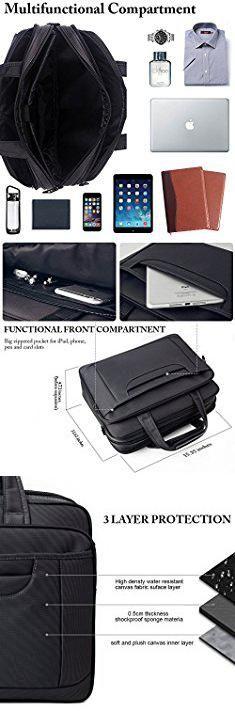 Office Bag For Man. Ytonet Laptop Briefcase,15.6 Inch Laptop Bag,Business Office Bag for Men Women,Stylish Nylon Multi-Functional Shoulder Messenger Bag for Notebook/Computer/Tablet/MacBook/Acer/HP/Dell/Lenovo,Black Grey.  #office #bag #for #man #officebag #bagfor #forman