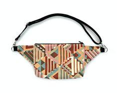 Fanny pack / waist bag / bum bag / belt bag / zero waste vegan | Etsy