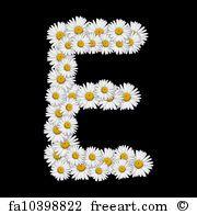 Flower Letter - Art Print