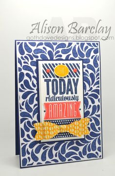 Gothdove Designs - Alison Barclay - Stampin' Up! Australia - Stampin' Up! Birthday Bash and Amazing Birthday - Create With Connie and Mary Thursday Challenge #stampinup