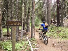 A favorite of Hood River locals in search of some of spring's first snow-free spins, the Eightmile Loop Trail in the eastern fringes of the Mount Hood National Forest hits an encore sweet spot come fall.