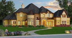 Magnificent European House Plan - 36480TX | Architectural Designs - House Plans
