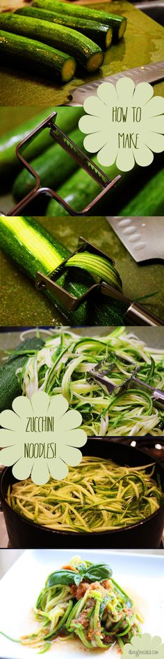 My birthday was a couple of weeks ago, and (per my normal requests) I received some cool new kitchen tools. One of them was a julienne peeler because I wanted to be able to make vegetable noodles. ...