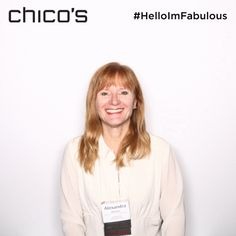 Photo from @Chico's #HelloImFabulous experience at #BAMC16