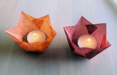 """tea light lantern """"pattern"""""""