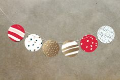 Snow Dot Party Decor