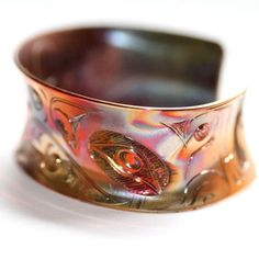Image of Copper Eagle Bracelet from the Beyond Buckskin Boutique