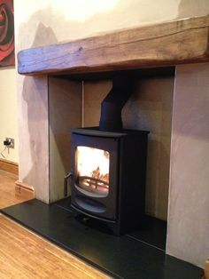 Great Pictures Fireplace Hearth log burner Popular Wonderful Screen Fireplace Hearth pillows Suggestions Find Home Decor at Wayfair. Wood Burner Fireplace, Fireplace Hearth, Fireplace Design, Fireplaces, Cottage Living Rooms, Home Living Room, Living Room Decor, Granite Hearth, Front Rooms