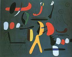 Joan Miro Masterpiece | Joan Miro - Painting 1933