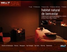 Well Domus Spa - Website made by WebComum #website #webdesign