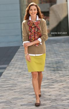 J Jill; great fall outfit for Florida!