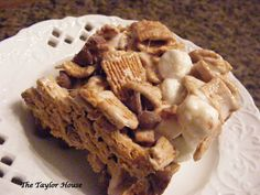 S'mores Bars - made these yesterday from the betty crocker website, so yummy!!!