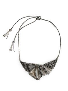Tammy Tiranasar, hand knotted necklace