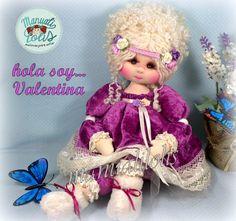 Doll Patterns, Art Dolls, Harajuku, Crochet Hats, Diy, Pretty, Style, Fabric Dolls, Rag Doll Patterns