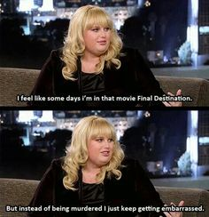 How can anyone not love Rebel Wilson?