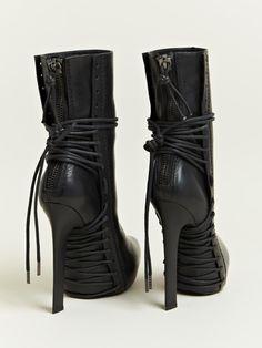 Haider Ackermann Women's Lace Elbamatt Boots | LN-CC