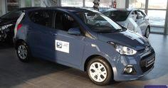 """Hyundai nowy model i10 1,0MPI (69KM) wersja COMFORT Kolor: Niebieski """"MORNING GLORY"""" Kolor wnętrza: Niebiesko - czarny   http://hyundai.lubin.pl/oferta/i10/14"""