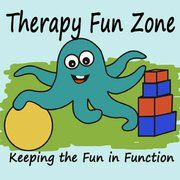 The blog of an occupational therapist that says she don't have all of the answers, but hopes that she will help stimulate creativity and information sharing. As a therapist, she's always creating new things to use in therapy or adapting things and loves sharing her projects and solutions.